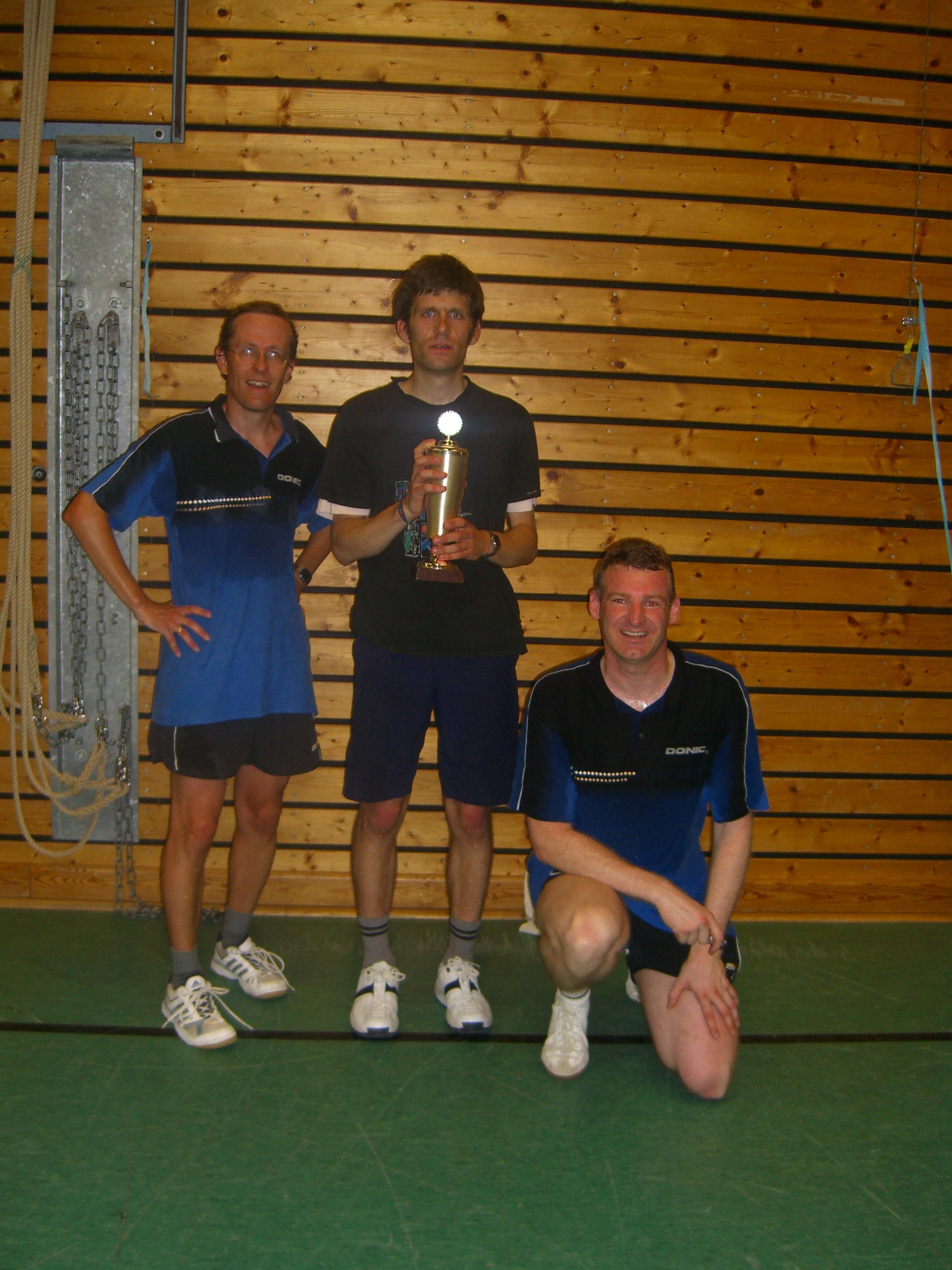 Herren: Vereinsmeisterschaft 2005