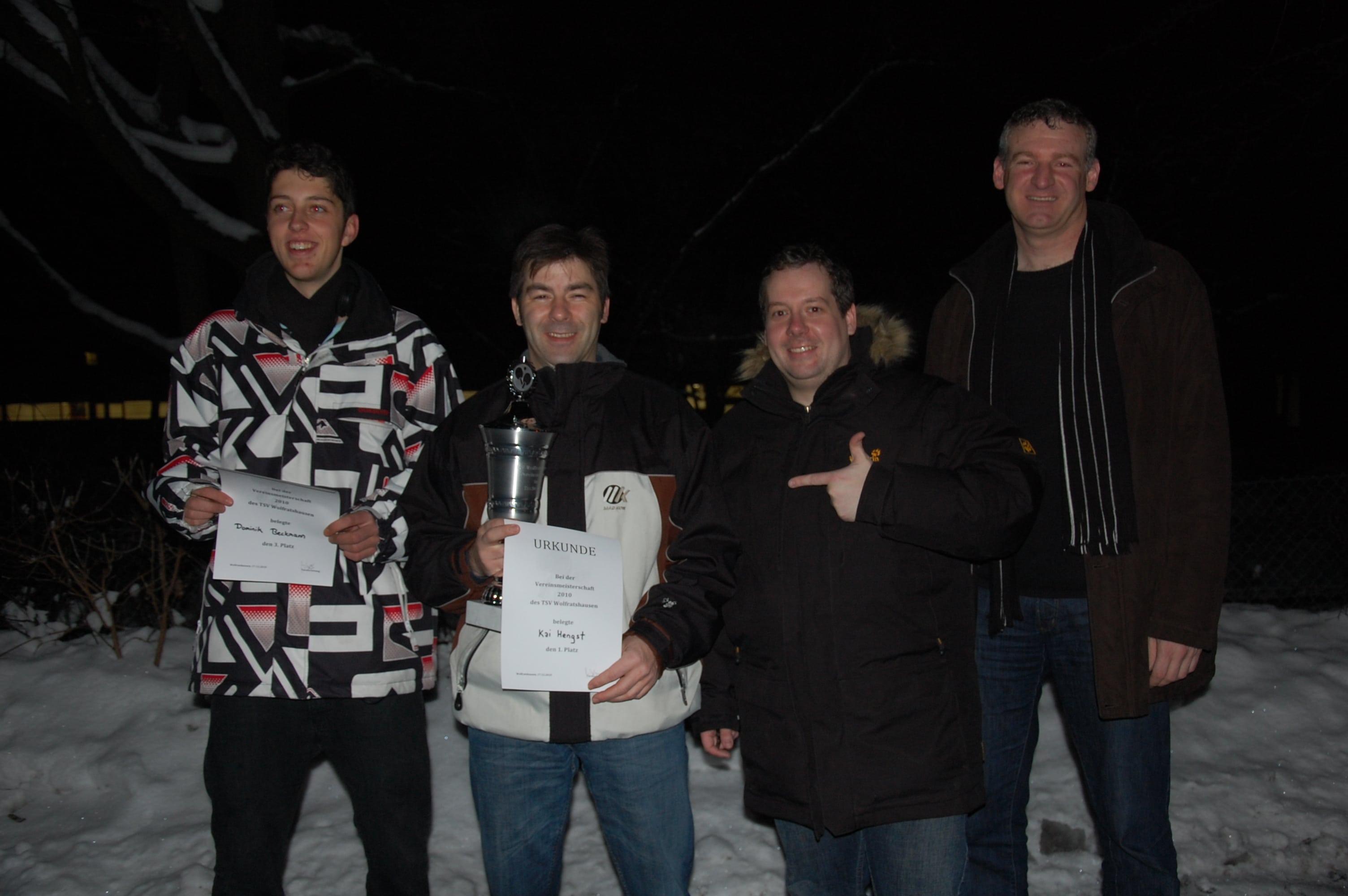 Herren: Vereinsmeisterschaft 2010