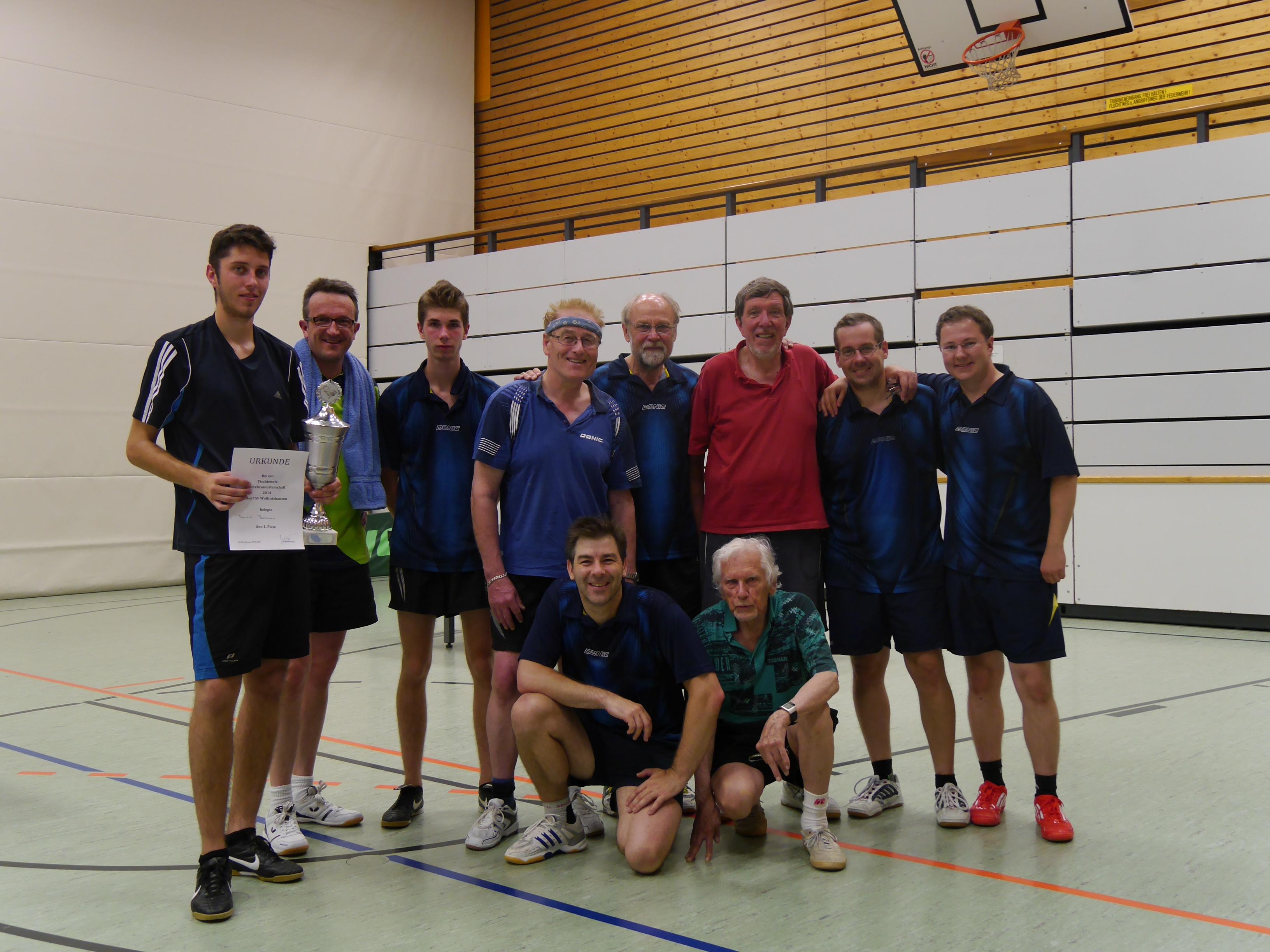 Herren: Vereinsmeisterschaft 2014