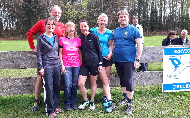 Das TSV-Team in Schaftlach (es fehlt Dieter Rummel)