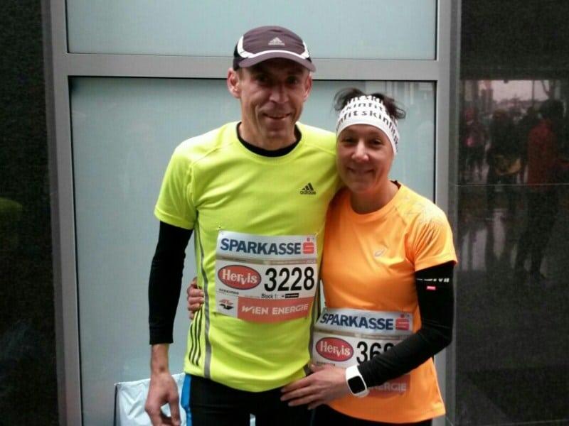 Unsere TSV-Marathonläufer in Wien