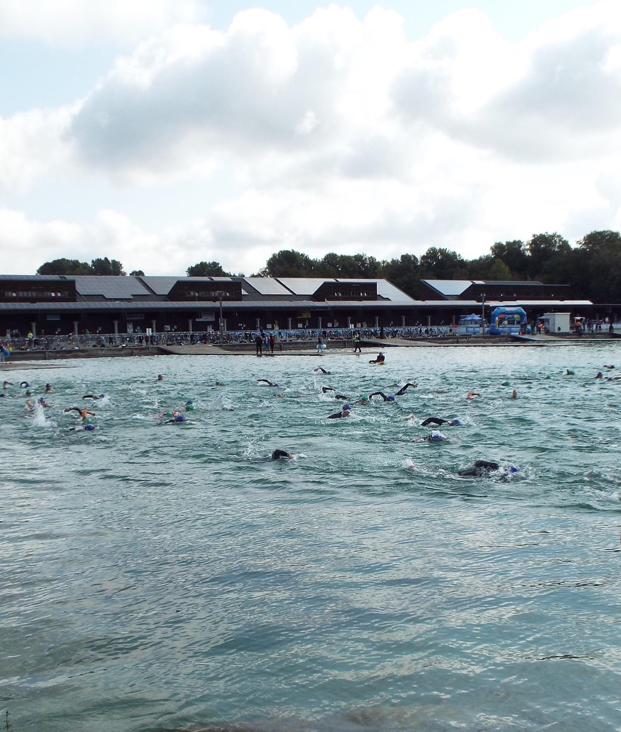 3MUC Triathlon in Oberschleißheim am 26. August 2018