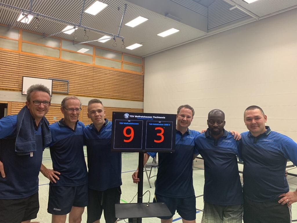 Gelungener Saisonauftakt: H1 gewinnt 9:3 gegen Holzkirchen II