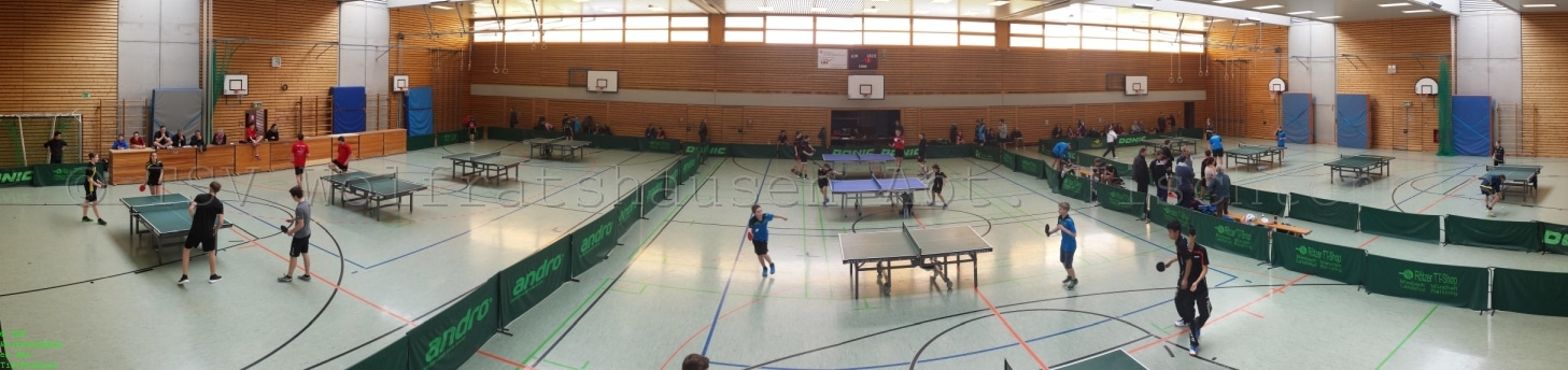 Bericht: Bezirks-Pokalmeisterschaft Jugend Oberbayern im Tischtennis
