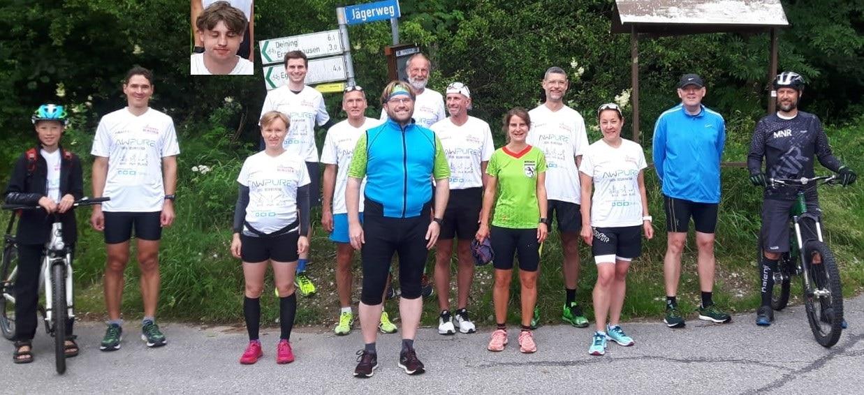 """Charitylauf """"Füreinander Bewegen"""" in Wolfratshausen 17.- 19.07.2020"""