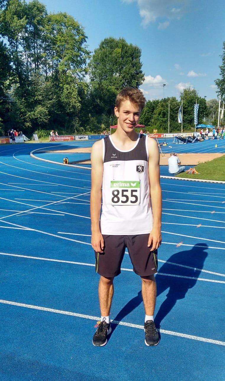 Bayerische Meisterschaft U20 am 07.07.2018