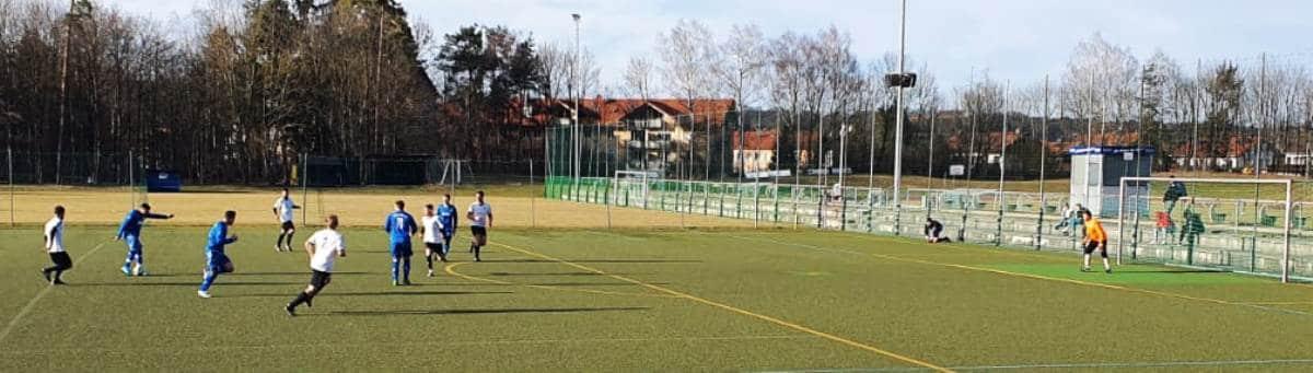Furioser Auftakt in die Wintervorbereitung, Wölfe bezwingen SV Arget mit 9:0